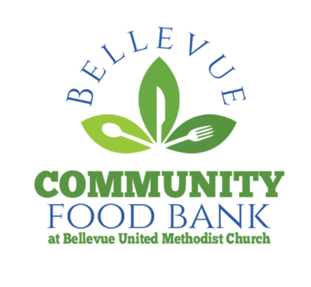 Bellevue Community Food Bank at Bellevue United Methodist Church Logo